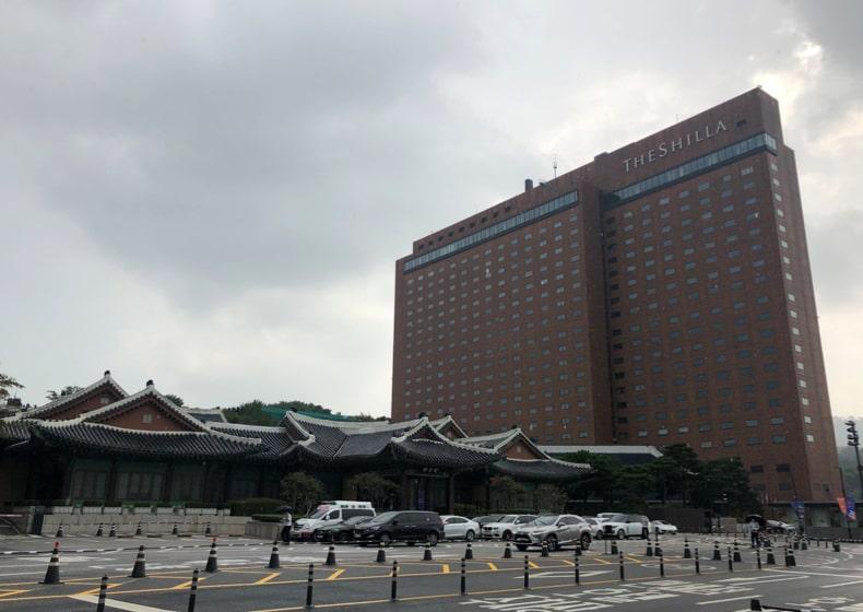 会場/ソウル・新羅ホテル